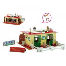 Set 2 Grajd de cai + 2 figurine cai incluse - Set 2 Grajd de cai + 2 figurine cai incluse