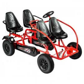 Kart cu pedale Train