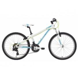 Bicicleta copii Senza 24 Blue Neon Peach Arctic White