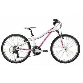 Bicicleta copii Senza 24 Deep Violet Aqua Teal Pearl White