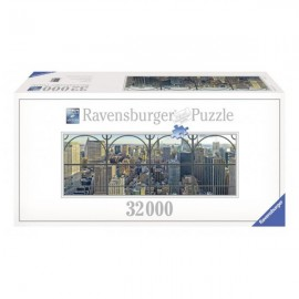 Puzzle new york privit de la fereastra 32000 piese