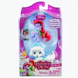 Figurine Disney 38 Cm - Catelusul Cenusaresei Si Poneiul Lui Ariel