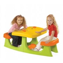 Masuta Picnic Copii cu 2 locuri - Galben