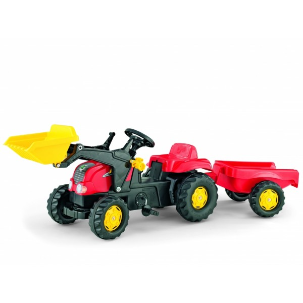 Tractor cu pedale Rolly Kid Rosu