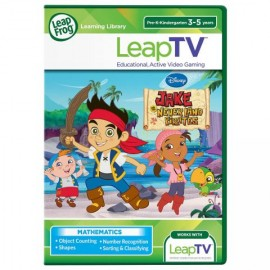 LeapTV Joc Jake si Piratii