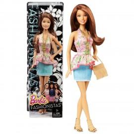 Papusa Barbie Summer Fashionista - Teresa imagine