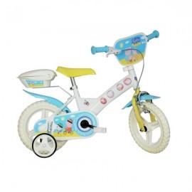 Bicicleta peppa pig 12 dino bikes