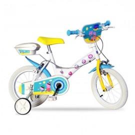 Bicicleta peppa pig 14 dino bikes