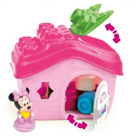 Set Clemmy Baby Minnie Casa+cuburi Clemmy Clementoni 14532