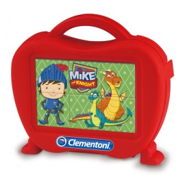Puzzle 6 cuburi Mike the knight Clementoni