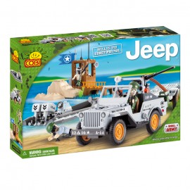 Jeep Willys MB Paza de coasta - Cobi