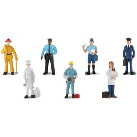 Tub 7 figurine - Meserii - Oameni la lucru