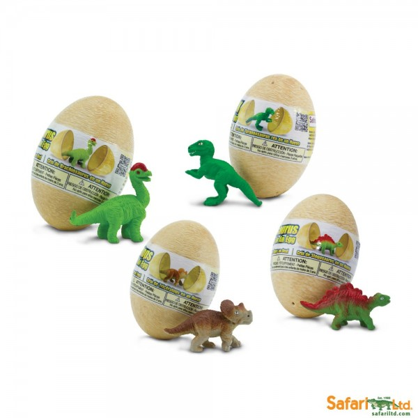 Figurine - Set Pui de dinozauri in ou