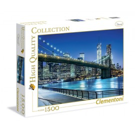 Puzzle 1500 piese hq new york clementoni 31804