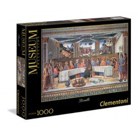 Puzzle 1000 piese museum  rosselli: the last supper  clementoni 39289