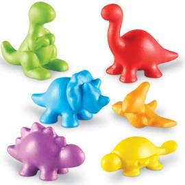 Set pentru sortat si numarat - dinozauri