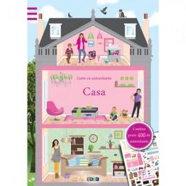 Casa - Carte cu autocolante