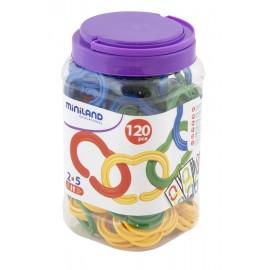 Zale din plastic pentru indemanare 120