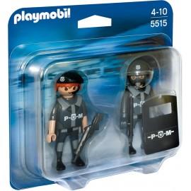 Echipa de politie - pachet duo