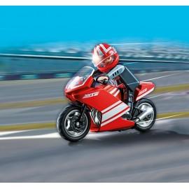 Motocicleta rosie