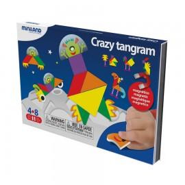 Joc magnetic Tangram fantezie