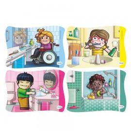 Set 4 puzzle Igiena