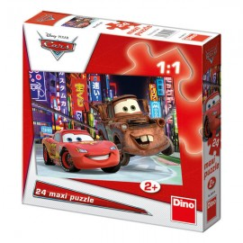 Puzzle de podea - cars (24 piese)