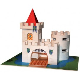 Micul arhitect - castelul medieval - cutie mare