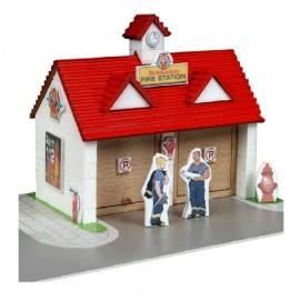 Micul arhitect - postul de pompieri - mediu