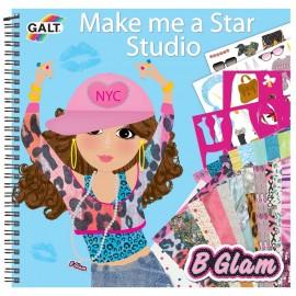 Carticica de colorat pentru fetite-vreau sa fiu vedeta