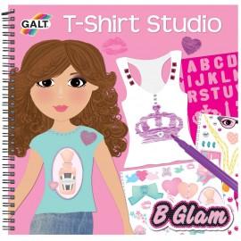 Girl club - carticica de colorat pentru fetite - t shirt studio