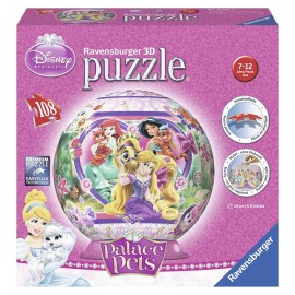 Puzzle 3d palace pets 108 piese