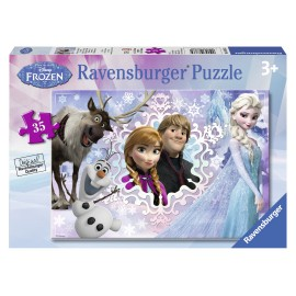 Puzzle disney frozen 35 piese