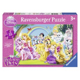 Puzzle disney palace pets 35 piese