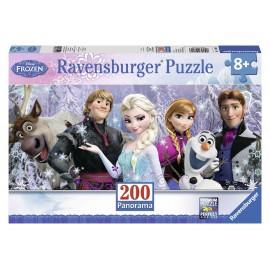 Puzzle Frozen Panorama Inghetata 200 Piese imagine
