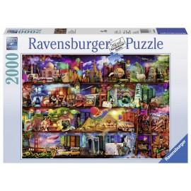 Puzzle lumea cartilor 2000 piese