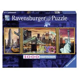 Puzzle new yorkul irizant 1000 piese