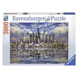 Puzzle orizonturi din america de nord 3000 piese