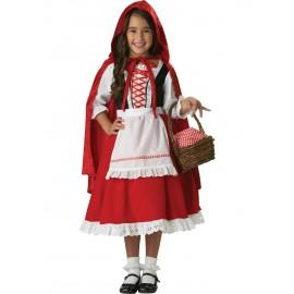 Costum Scufita Rosie 4 -5 ani