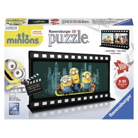 Puzzle 3d minions diafilm 108 piese