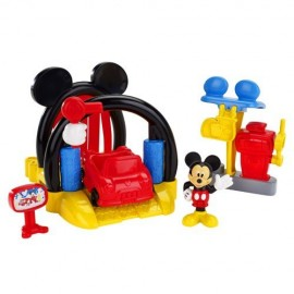 Mickey Playset Clubhouse - Spalatorie de masini