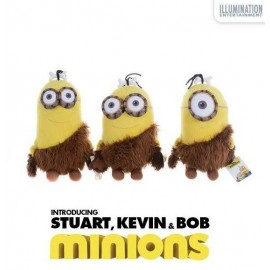 Jucarie Plus Premium Minions 2015 - Caveman Collection 30 Cm