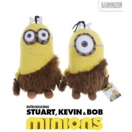 Jucarie Plus Soft Minions - Caveman Collection 44 Cm