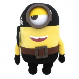 Jucarie Plus Minions Jumbo Lux Pirate - 68 Cm