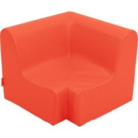 Canapea pentru colt - spuma - marimea 0 - rosie