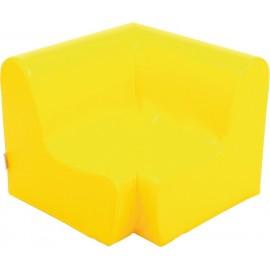 Canapea pentru colt - spuma - marimea 0 - galbena