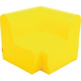 Canapea pentru colt - spuma - marimea 1 - galbena