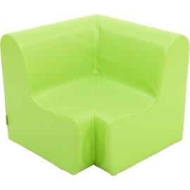 Canapea pentru colt - spuma - marimea 1 - verde