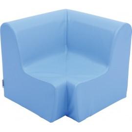 Canapea pentru colt - spuma - marimea 1 - albastra