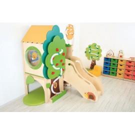 Complex de joaca interior Casuta din copac